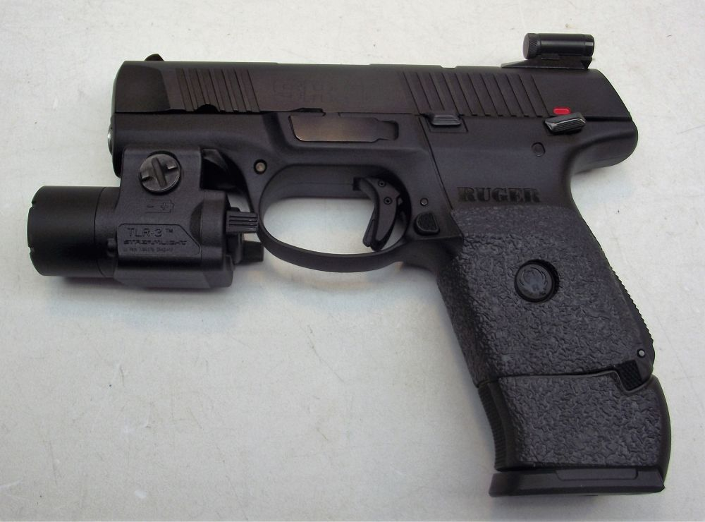 used Ruger SR9C 9mm EXTRAS