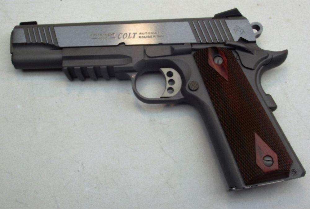used Colt Rail Gun 9mm 1911