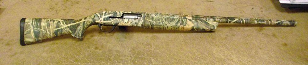 Used Browning Maxus 12ga Camo