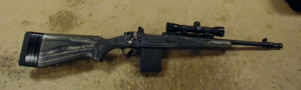 used Ruger Gunsite Scout 5 56