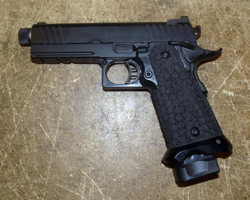 Used STI 1911 Tactical 9mm 4.0 Threaded