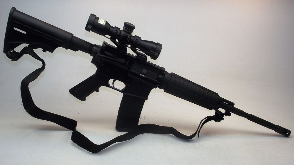 used Bushmaster OR Nikon AR15