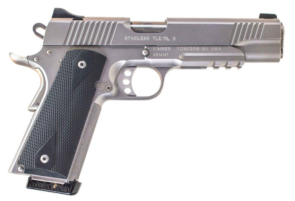 used Kimber TLE/RL II Stainless  45