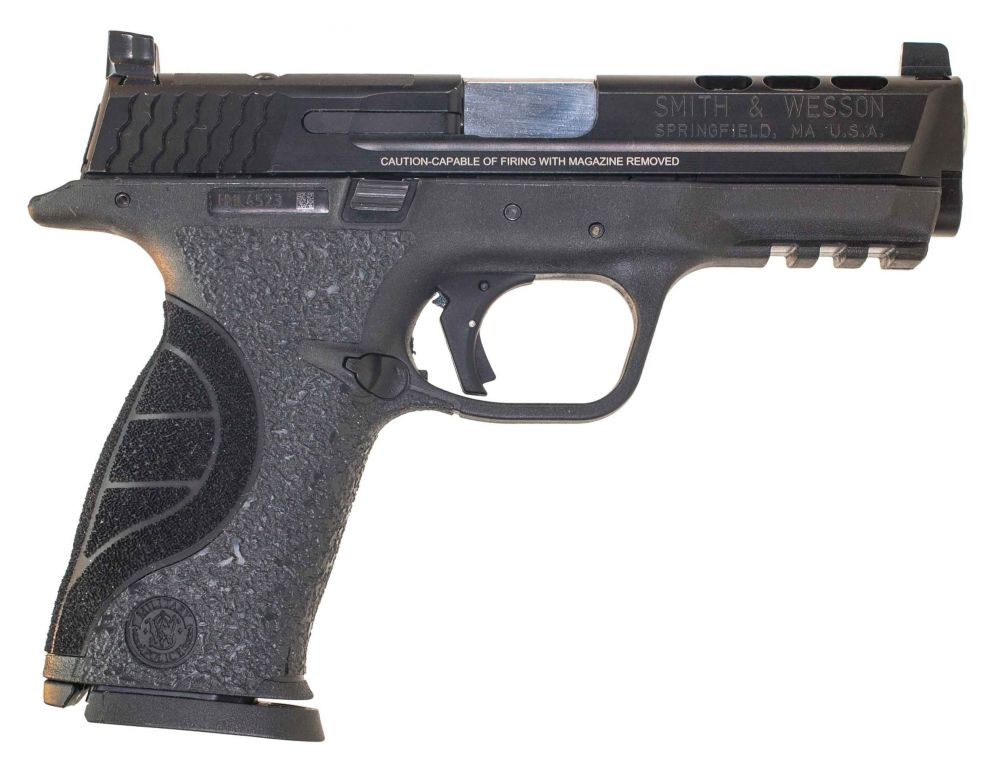 Used smith wesson core m p 9mm apex ported for M p ported core 9mm
