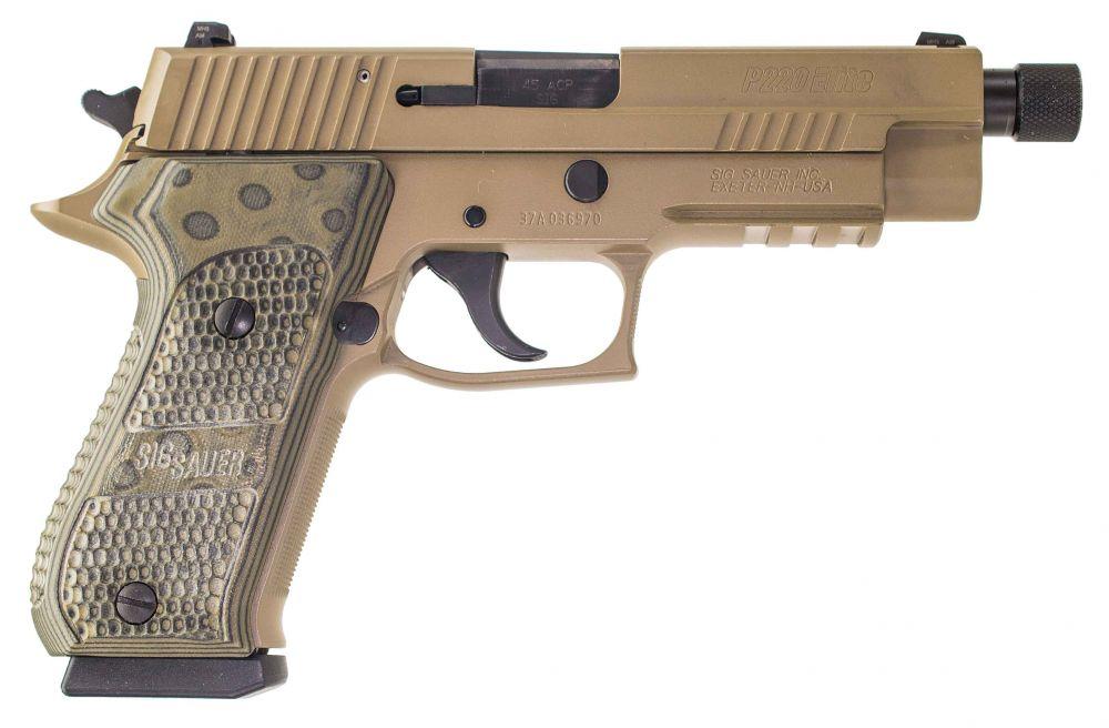 used Sig Sauer P220 Scorpion Elite Threaded Barrel