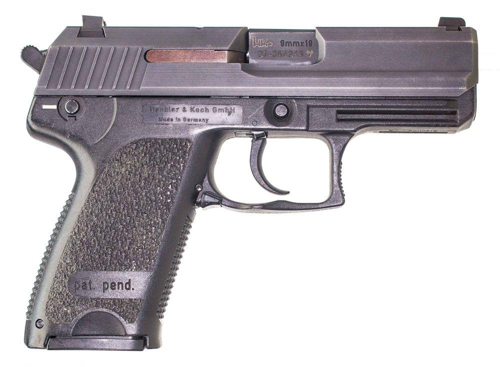 used Heckler & Koch USP Compact 9mm Night Sights $659.00