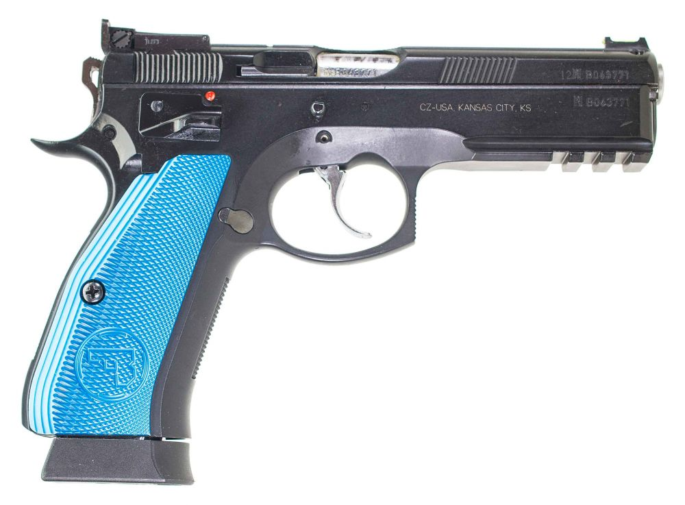 used CZ SP-01 Shadow Target 9mm