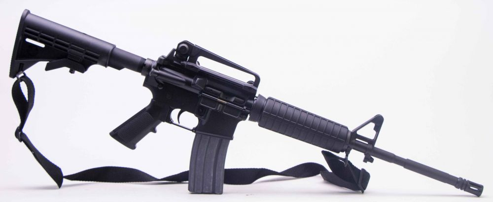 Used Bushmaster AR 15 Patrolman