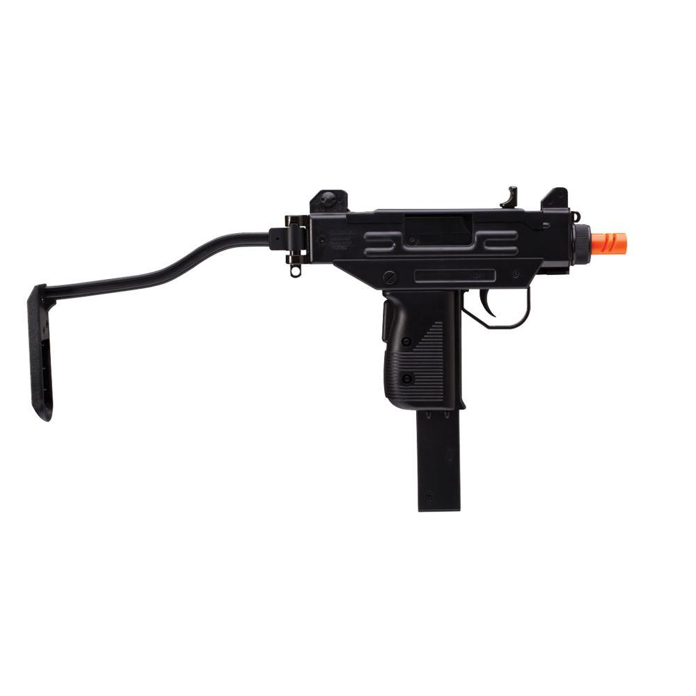 Umarex USA Mini UZI Spring Airsoft Pistol, Black