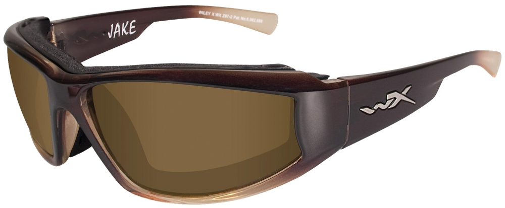 955e45db2d Wileyx Eyewear CCJAK04 Jake Safety Glasses Brown Fade