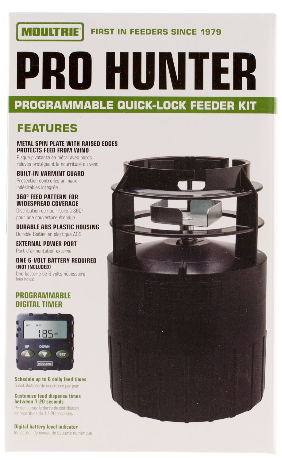 index mfhphbk pro hunter feeder deer moultrie feeders kit