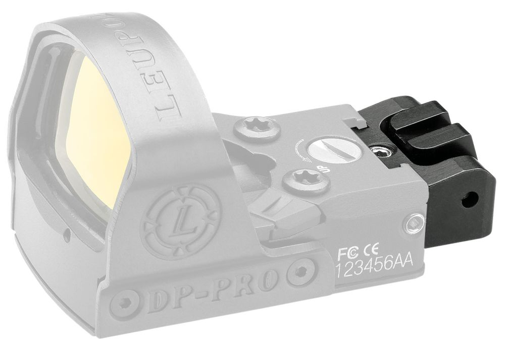 Leupold 120058 DeltaPoint Pro Rear Iron Sight Pistol Aluminum Black