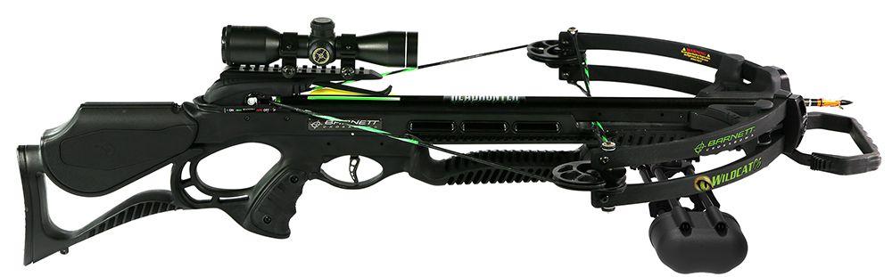 Barnett Crossbows 78042 Wildcat Crossbow/Scope Package Black
