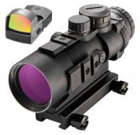 Burris 300177 AR-332 Combo with FastFire III 3x 32mm Obj Illuminated Ballistic CQ Red/Green Black Matte CR2032 Lithium - 300177