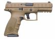"Beretta APX 9MM FULL Flat Dark Earth 4.9"" 17+1 FS 3 INTERCHANGEABLE BACKSTRAPS - JAXF92105"