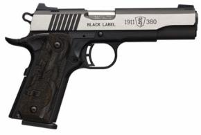 Browning 1911 380 Black Label MedallionPRO 4.25 LAM  - 051935492
