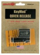Aimshot KeyMod QR Flashlight Mount Blk - MTKMQRLM