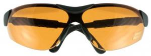Walkers GWPXSGLAMB Shooting Glasses Elite Shooting/Sporting Glasses Black Frame Polycarbonate Amber Lens - GWPXSGLAMB