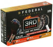 "Federal Premium 3rd Degree 12 GA 3"" 1-3/4 oz 5,6,7 Round 5 Bx/ 10 Cs"