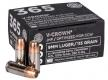 Sig Sauer E9MMA136520 V-Crown 9mm 115 GR Jacketed Hollow Point 20 Bx/ 10 Cs