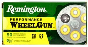Remington RPW38S3 Performance WheelGun 38 Spl 148 GR Targetmaster Lead WC Match 50 Bx/ 10 Cs
