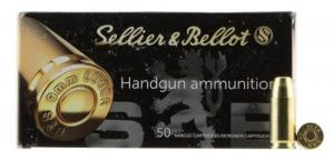 Sellier & Bellot SB9SUBB Handgun 9mm Subsonic 150 GR Full Metal Jacket 50 Bx/ 20 Cs