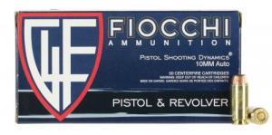 Fiocchi 10AP Shooting Dynamics 10mm Auto 180 GR Full Metal Jack