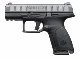 Beretta USA JAXQ420 APX Centurion 40 Smith & Wesson (S&W) Double Action 3.7 10+1 Bla - JAXQ420
