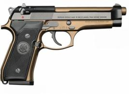 Beretta USA JS92F340M 92 Full Size 9mm Luger Single/Double 4.9 15+1 Black Syn