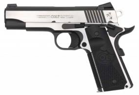 Colt Mfg O4080CE Commandr Combat Elite .45 ACP Single 4.25 8+1 Black G10 Half C - O4080CE