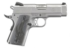 "Ruger SR1911 Officers Model .45 ACP 3.6"" Stainless 7+1 - 6762"