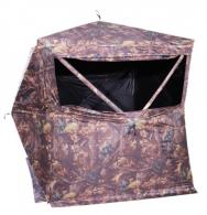 HME GRDBLND3 3-Person Ground Blind 150D Shell Camo - GRDBLND3