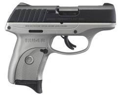 Ruger 3290 EC9s *Exclusive* 9mm 3.12 7+1 Gray Polymer Grip Stainl - 3290