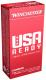 Winchester Ammo RED9 USA Ready 9mm 115 GR Full Metal Jacket Flat Nose 50 Bx/ 10 Cs