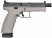 CZ-USA P-10 Full Size 9mm Double 4.50 10+1 Gray Polymer Grip Black Nitride Slide - 01544