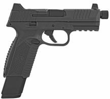 FN HERSTAL 66100375 509 Tactical 9mm Double Action 4.5 17+1 Black Interchangeable Back - 66100375