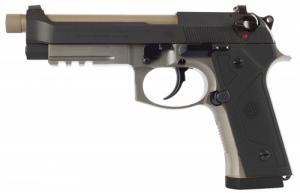 Beretta USA J92M9A3M4 M9A3 Italy Type F 9mm Single/Double Action 5.2 Threaded Barrel 17+1 Bl - J92M9A3M4