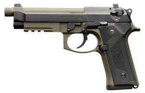 Beretta USA J92M9A3M1 M9A3 Italy Type F 9mm Single/Double Action 5.2 Threaded Barrel 17+1 B - J92M9A3M1