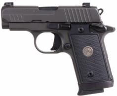 "Sig Sauer P238 Legion .380acp 2.7"" Legion Gray, Night Sights, 3 Mags, 7+1 - 238380LEGION"