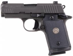 "Sig Sauer P938 Micro-Compact Legion 9mm Single 3"" 7+1 Black G - 9389LEGION"