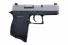 Diamondback Firearms DB9 9mm Double Action 3.0 6+1 Black Poly Grip/Frame Nickel Slide - DB9NB