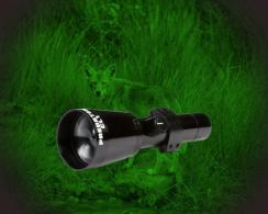 HME CLCL1G CL1 Predator Green LED Rechargeable Lithium Battery Black 6061-T6 Aluminum - CLCL1G