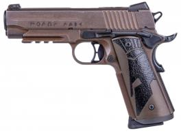 Sig Sauer 1911CAR45SPARTANII 1911 Carry Spartan II .45 ACP Single 4.2 8+1 Black Spartan II Grip Distressed Coyote Stainless Stee - 1911CAR45SPARTANII