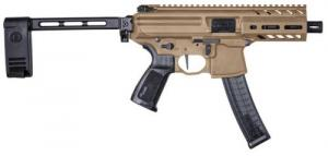 "Sig Sauer MPX 9mm 4.5"" Coyote Tan PCB Brace - PMPX4B9COY"