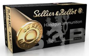 Sellier & Bellot SB44C Handgun .44 MAG 240 GR Semi-Jacketed Hollow Point (SJHP) 50 Bx/ 12 Cs - SB44C