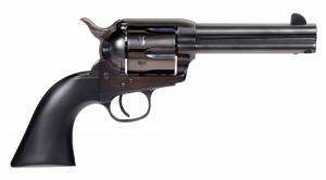 TAYLORS & CO. INC. 555161 Devil Anse Revolver Single .45 LC 4.75 6 Rd Black Wood Grip Blued - 555161