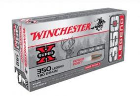 Winchester Super-X 350 Legend 180GR. Power Point 20ct Box