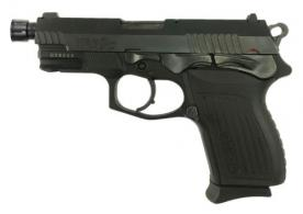 "Bersa TPR9CMX TPR9C Compact 9mm Double Action 4.1"" 13+1 Black Textured Polymer Grip Black Steel Slide - TPR9CMX"