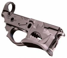 SHARPS BROS LLC SBLR02 Warthog Stripped Lower AR-15 Multi-Caliber Black Hardco - SBLR02