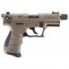 Walther Arms P22Q TAC .22 LR Threaded Barrel 10R 3.4FDE - 5120753